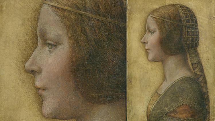'La bella principessa' de Da Vinci es... ¿una cajera de supermercado?