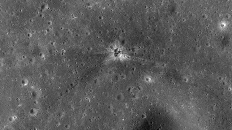 Los secretos de la Luna: localizan el lugar del impacto del cohete de la misión Apollo 16