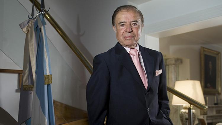 Argentina: Condenan al expresidente Menem a 4 años de prisión por haber pagado sobresueldos