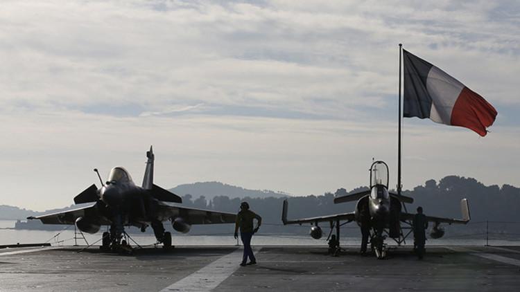 Francia lanza nuevos ataques aéreos  contra el Estado Islámico en Irak