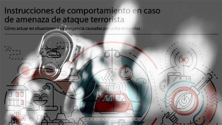 Infografía: Cómo actuar en caso de amenaza terrorista
