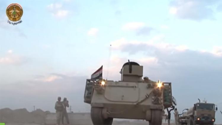 Video de una 'ofensiva anunciada': El Ejército iraquí se prepara para asaltar al EI en Ramadi