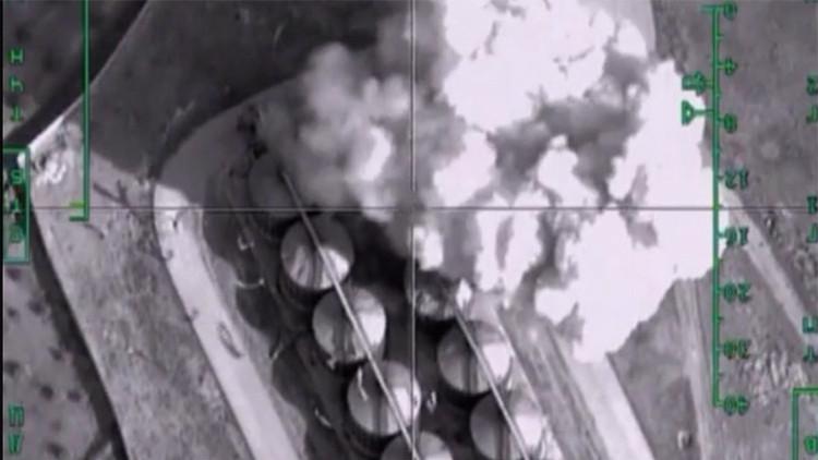 Fotos satelitales: El viaje del crudo robado por el EI hasta Turquía