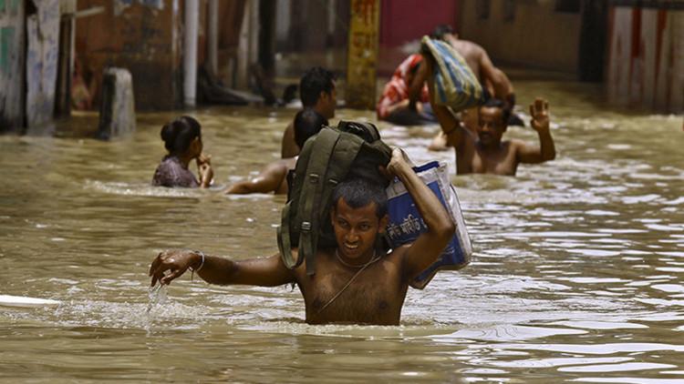 El peor desastre natural del siglo: lluvias torrenciales devastan el sur de la India