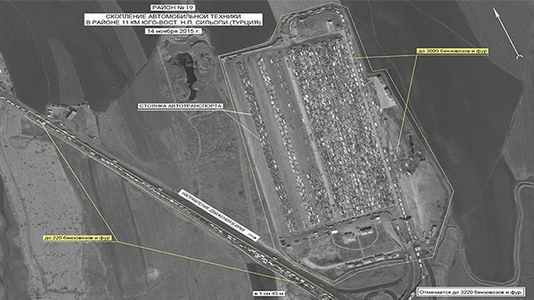 Rusia proveerá a la ONU evidencias del suministro del crudo del EI a Turquía