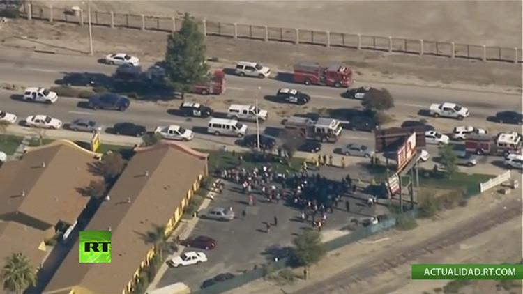 Encuentran una posible bomba en el lugar del mortal tiroteo en California