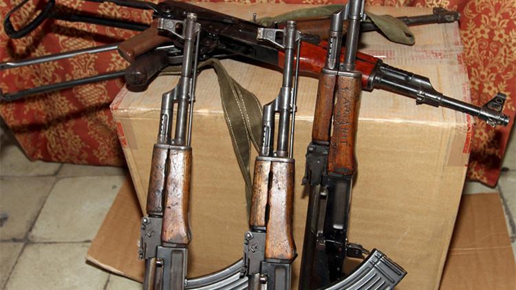 Los tres supuestos autores del tiroteo en California podrían llevar AK 47