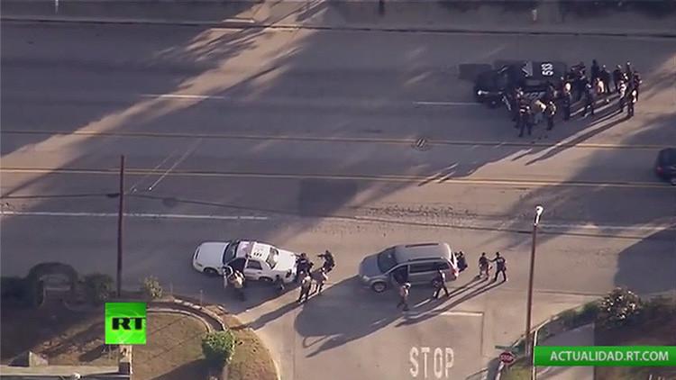 VIDEO: La Policía abate a dos sospechosos del tiroteo en San Bernardino
