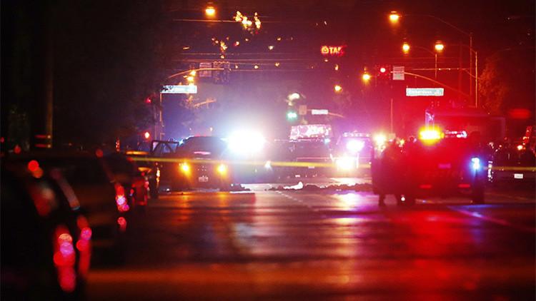 Se registra una explosión en la casa de un sospechoso en San Bernardino
