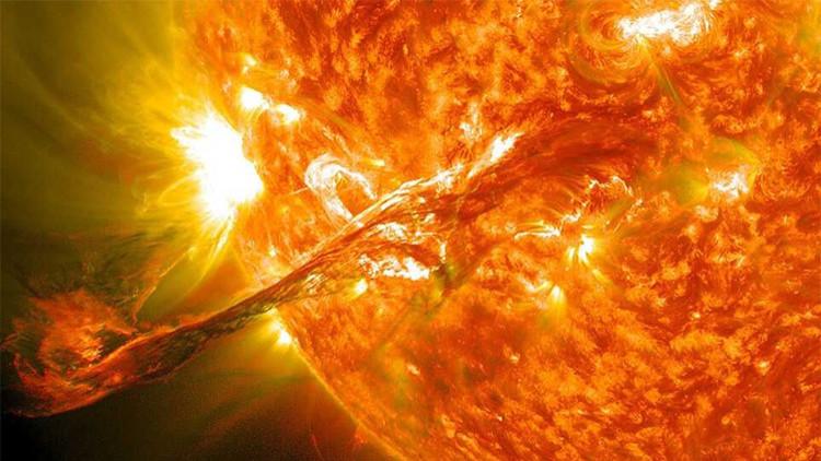 Megafulguración en el Sol podría acabar con la Tierra