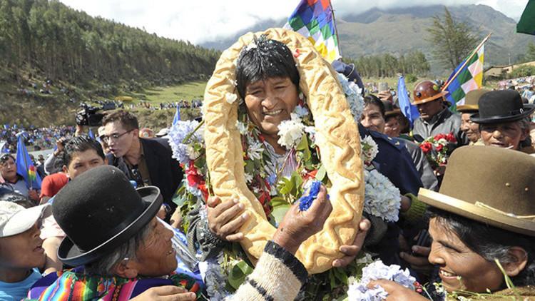 Evo Morales es el gobernante más popular de Latinoamérica