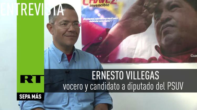 """""""La oposición basa su campaña en la destrucción de la moral del pueblo de Chávez"""""""