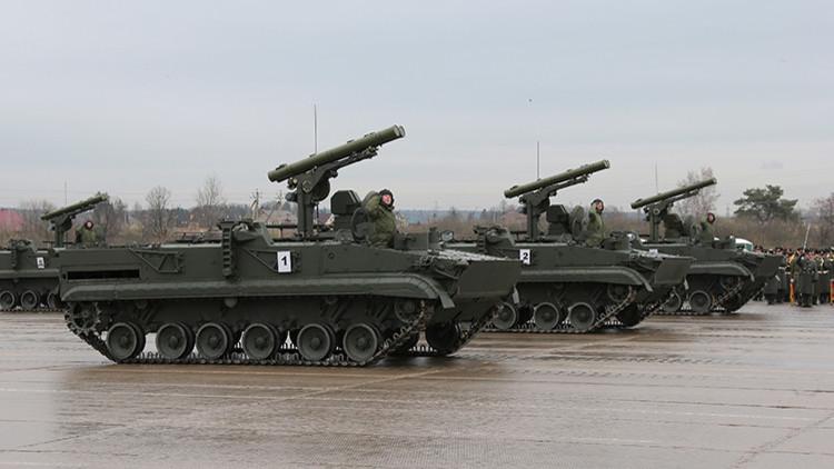 Video: El increíble sistema ruso capaz de destruir cinco tanques en el acto