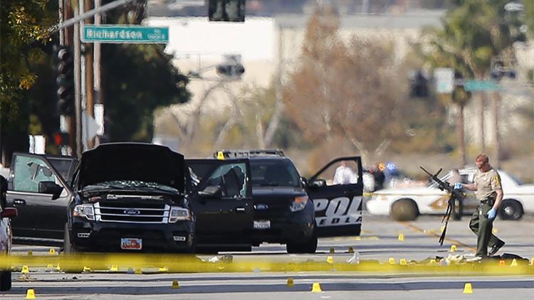 Dramático video: El momento en que la Policía se enfrenta a los atacantes de San Bernardino