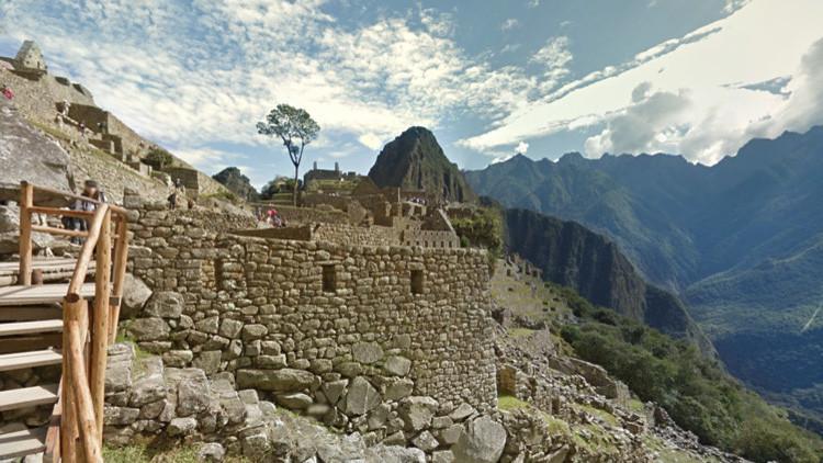 Ya es posible subir al Machu Picchu 'con un dedo': Google Street View nos lo acerca a golpe de ratón