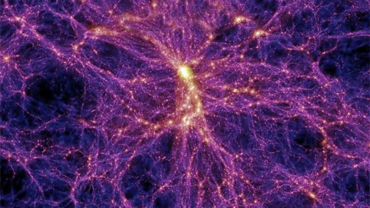Descubren un nuevo componente del universo dentro de una 'red cósmica'