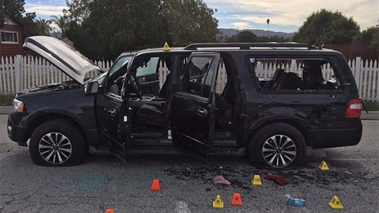 EE.UU. publica fotos de las armas y municiones de los autores del tiroteo en San Bernardino