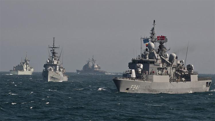 ¿Qué hacen los buques de la OTAN en el mar Negro?