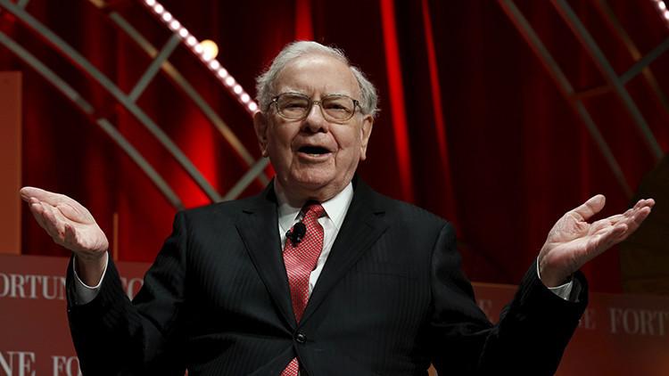 El empresario y inversionista estadounidense Warren Buffet