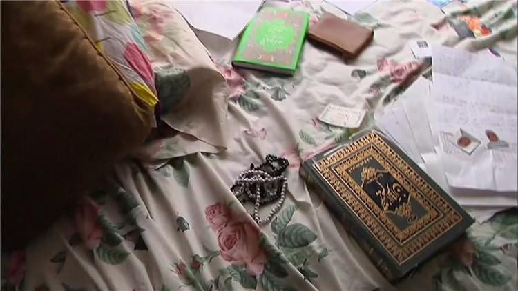 Video: Primeras imágenes desde el interior de la casa de los presuntos terrosristas de California