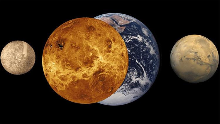 Video de la NASA: No te pierdas el 'baile' de Marte con Júpiter y Venus