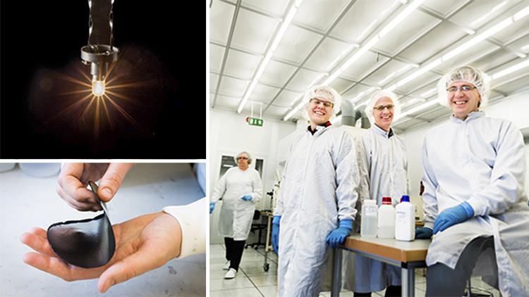 Científicos suecos desarrollan un innovador 'papel batería' capaz de acumular energía eléctrica