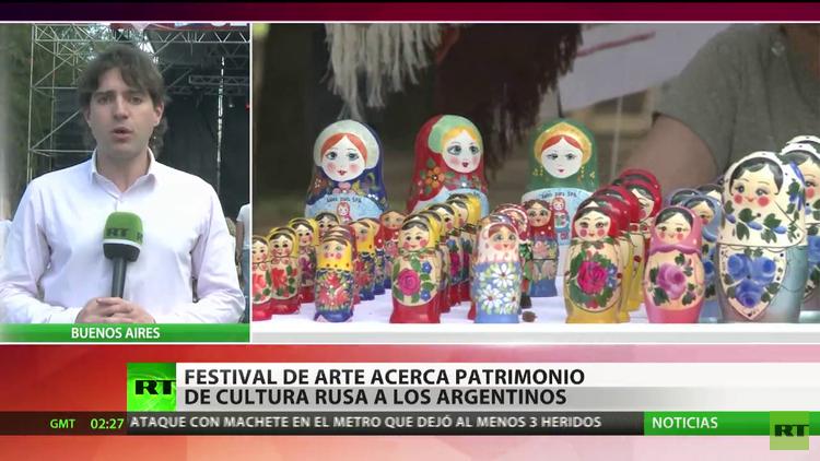 El festival 'Sentir Rusia' palpita entre los argentinos