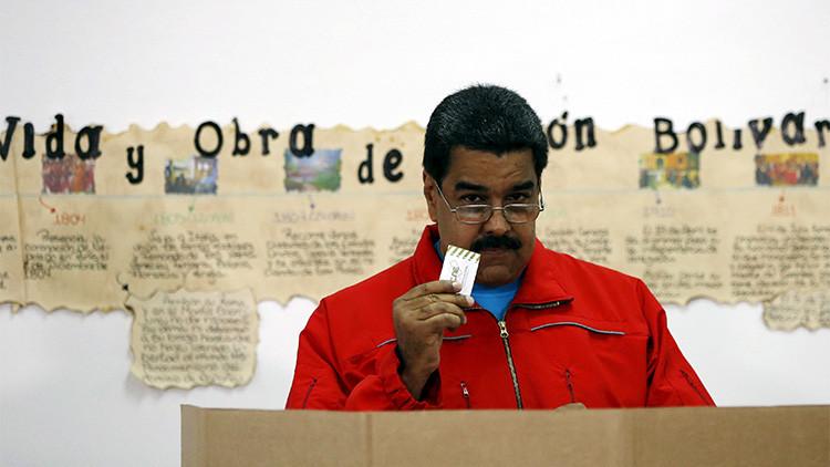 """Maduro: """"Las elecciones se realizan en paz y tranquilidad"""""""
