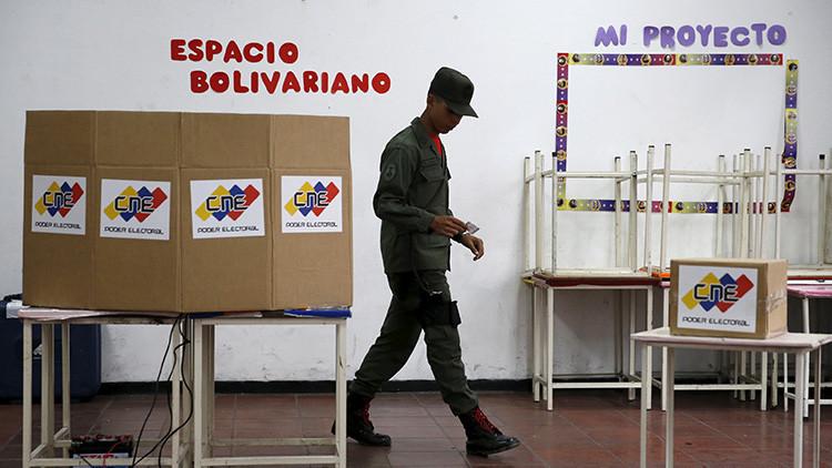 Empiezan a cerrar los centros de votación en las elecciones de Venezuela