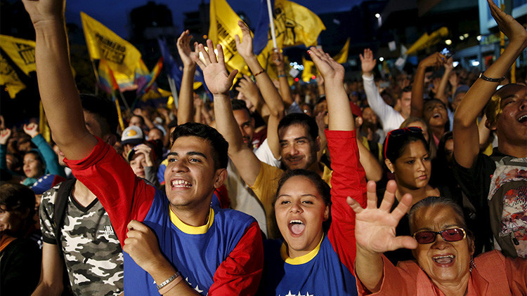 """Líder de la MUD: """"Comenzó el cambio en Venezuela"""""""