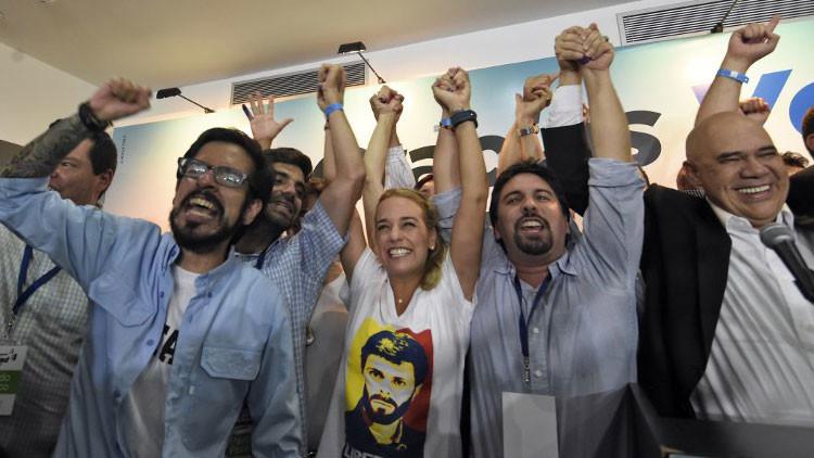 """Esposa de Leopoldo López: """"Ganamos muchísimo. Ganamos bien"""""""