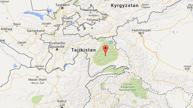 Fuerte terremoto de magnitud 7,2 sacude Tayikistán
