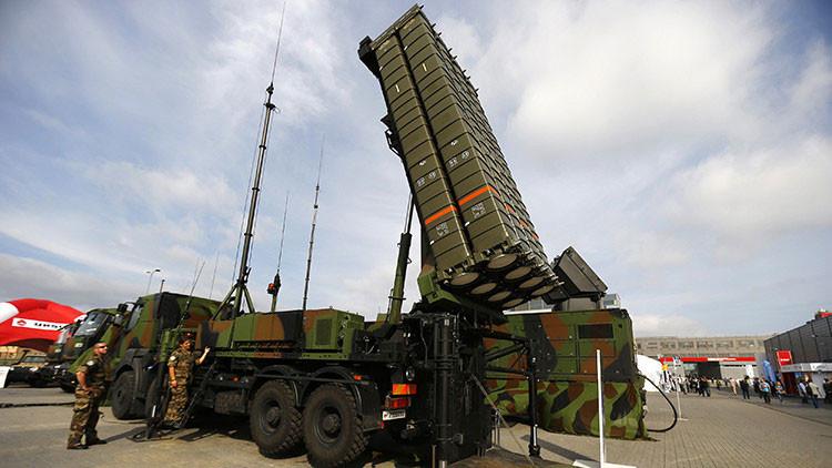 El sistema de defensa antiaéreo SAMP-T