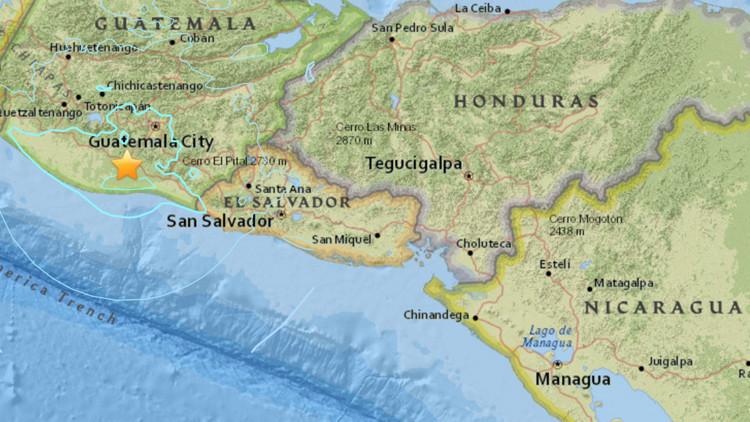 Un fuerte sismo se hace sentir en Guatemala y El Salvador