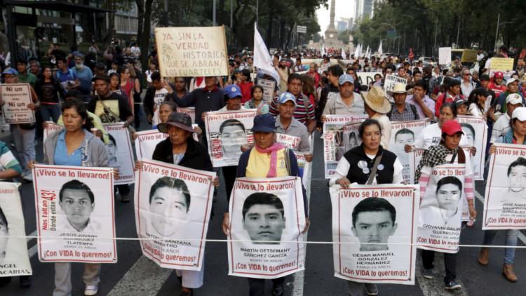 Expertos Independientes: los normalistas mexicanos no fueron quemados en un basurero de Cocula