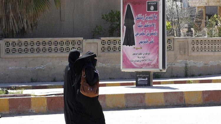"""""""Se venden como barriles de petróleo"""": ¿Cuál es el papel de la mujer en el Estado Islámico?"""