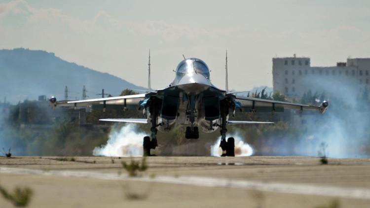 La aviación rusa lanza casi 2.000 bombas sobre intereses terroristas en Siria en 4 días