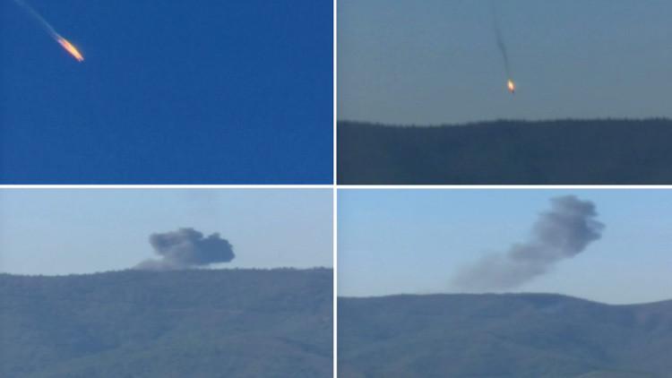 Encuentran la caja negra del Su-24 ruso derribado por Turquía
