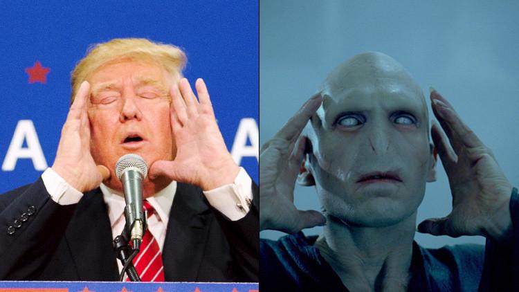 """J. K. Rowling: """"Voldemort no es tan malo como Donald Trump"""""""