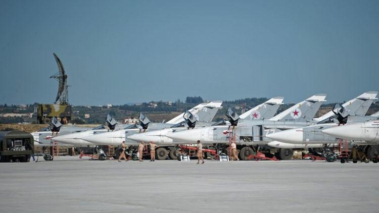 Rusia no desplegará más bases aéreas en Siria