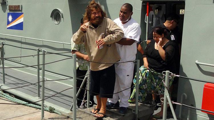 Acusan a náufrago salvadoreño que sobrevivió más de un año a la deriva en el Pacífico de canibalismo