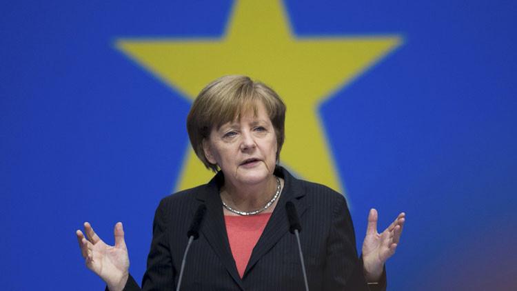 Angela Merkel, elegida 'Persona del Año 2015' por la revista 'Time'