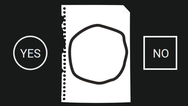 ¿Círculo o cuadrado?: una ilusión óptica nos revela nuestra ideología política