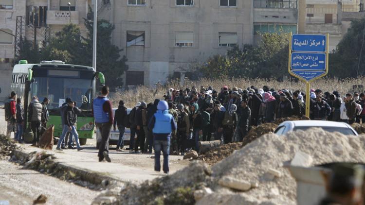 Tregua en Siria: civiles y rebeldes abandonan la ciudad de Homs, bastión de la revolución