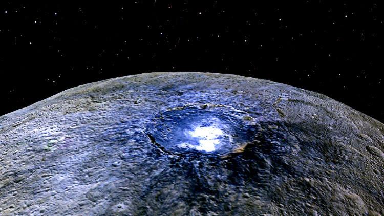 El misterio de los puntos brillantes de Ceres podría tener ya una explicación