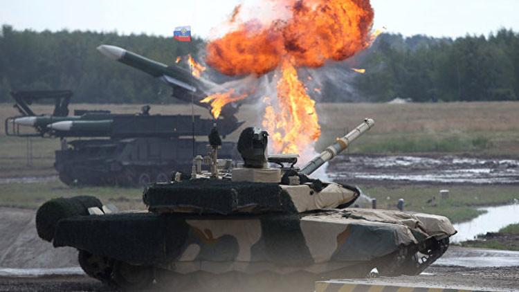 El tanque ruso T-90MS