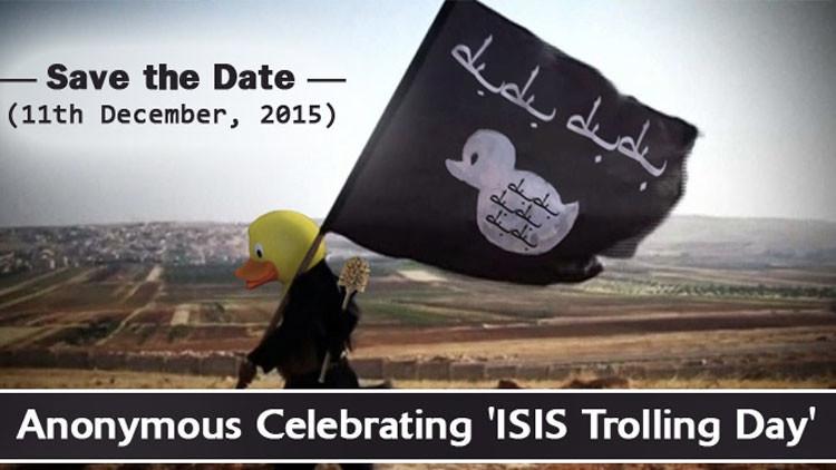 #Daeshbags, el mundo celebra el Día del Troleo al Estado Islámico anunciado por Anonymous (fotos)