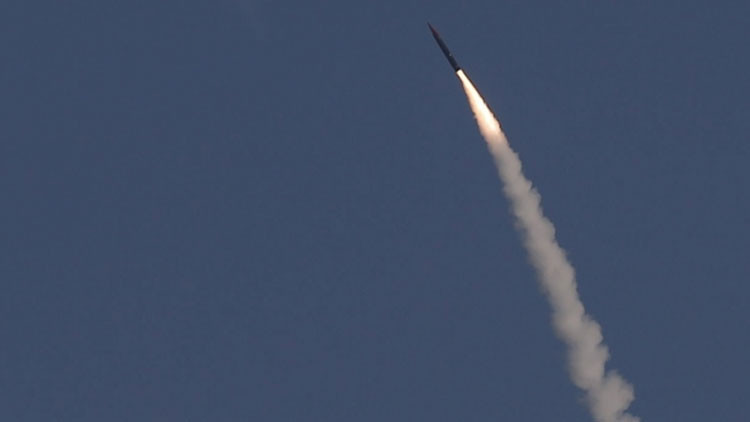 Israel invade los cielos ensayando su nuevo sistema antimisiles