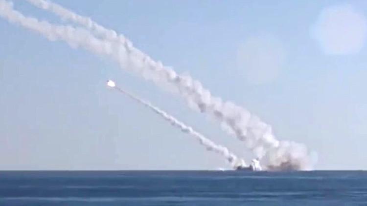 Rusia comprueba la eficacia de sus misiles navales atacando a los extremistas en Siria