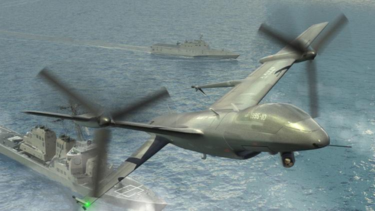 """La Armada de EE.UU. necesitará """"robots voladores letales"""" para hacer frente a Rusia o China"""